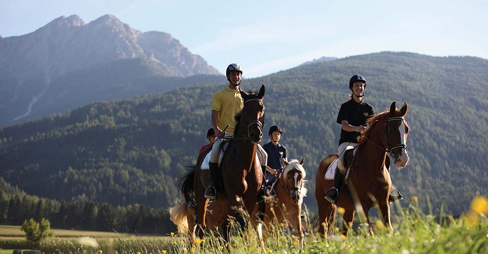 Horse riding holidays in Merano and the surrounding area