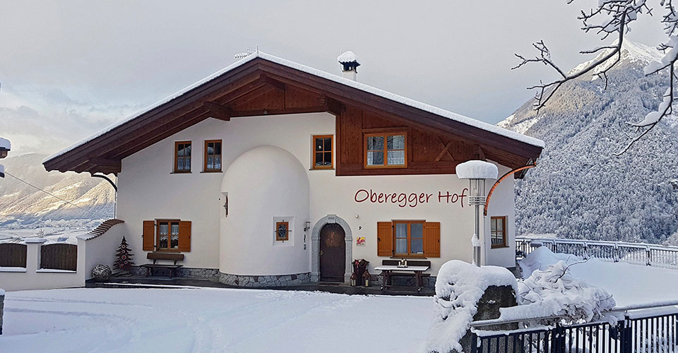Obereggerhof in Scena, South Tyrol